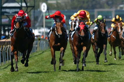 Where can you bet on horse races online in the US?
