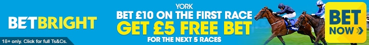Betbright York Free bets offer for every race